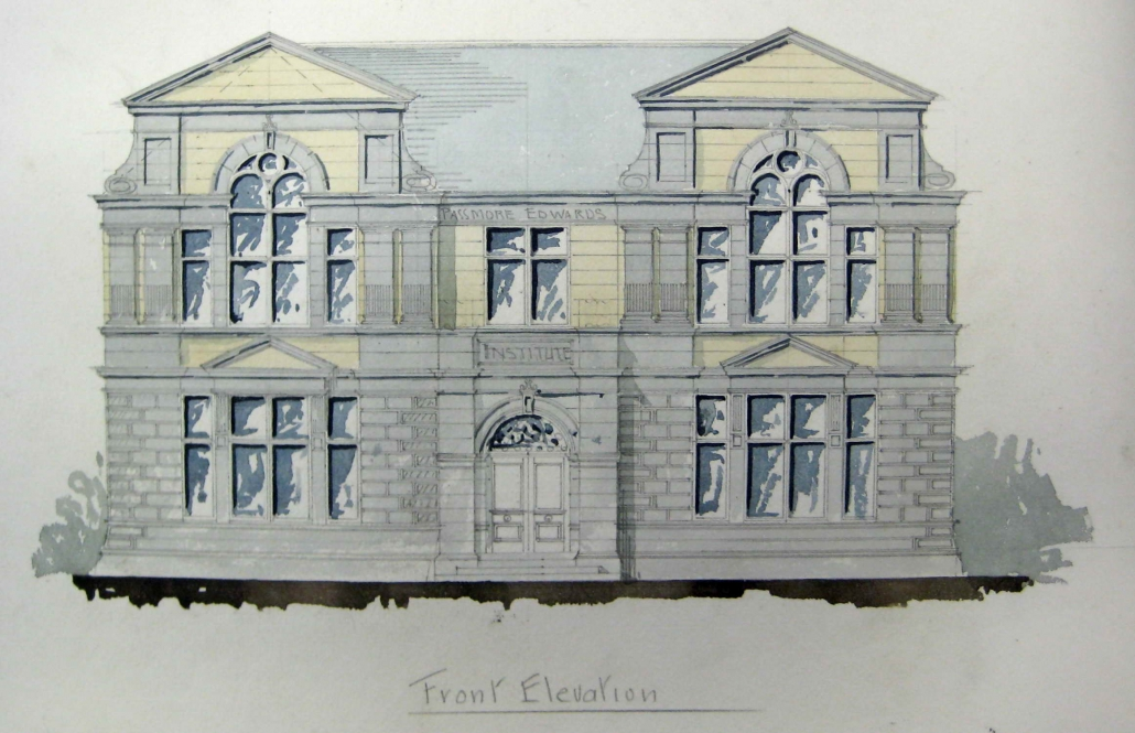 1. Building Front Sketch